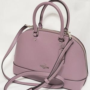Coach Mini Sierra Satchel Purse Crossbody Bag Nwt